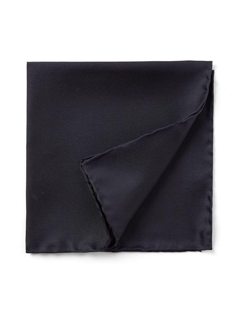 Silk Pocket Square in Navy