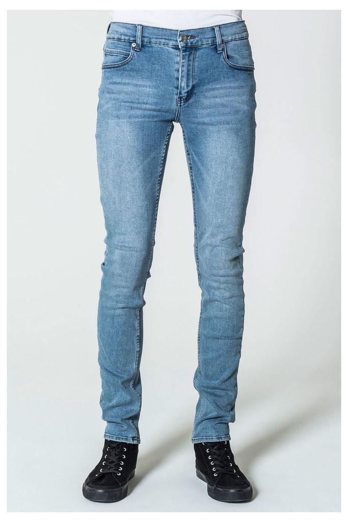 Tight Stonewash Blue Jeans