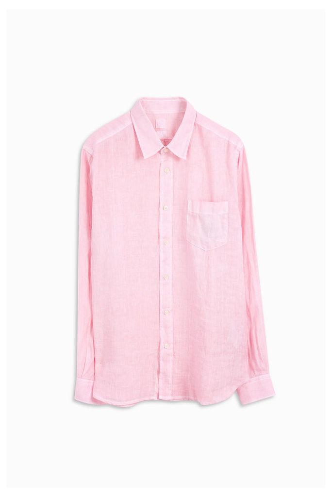 120% Lino Men`s Regular Fit Linen Shirt Boutique1