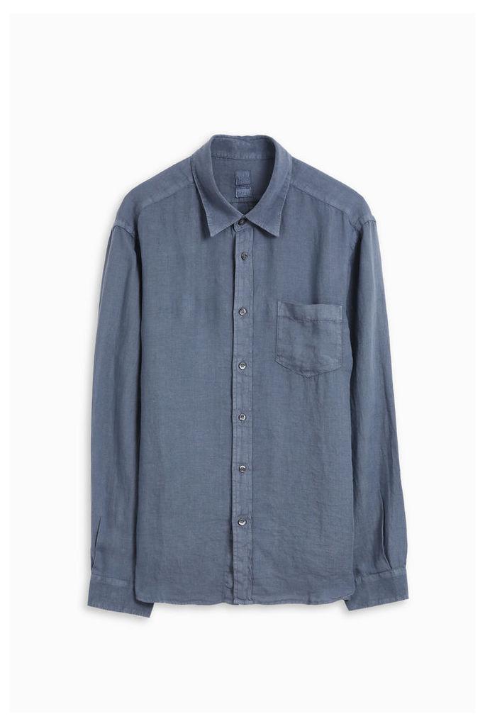 120% Lino Men`s Medium Fit Shirt Boutique1