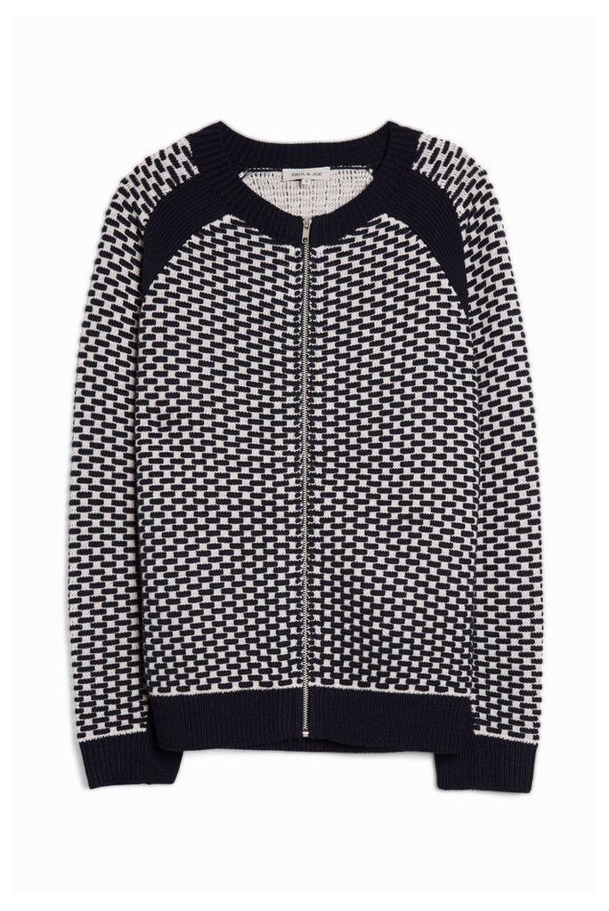 Paul Joe Men`s Heavy Knit Cardigan Boutique1