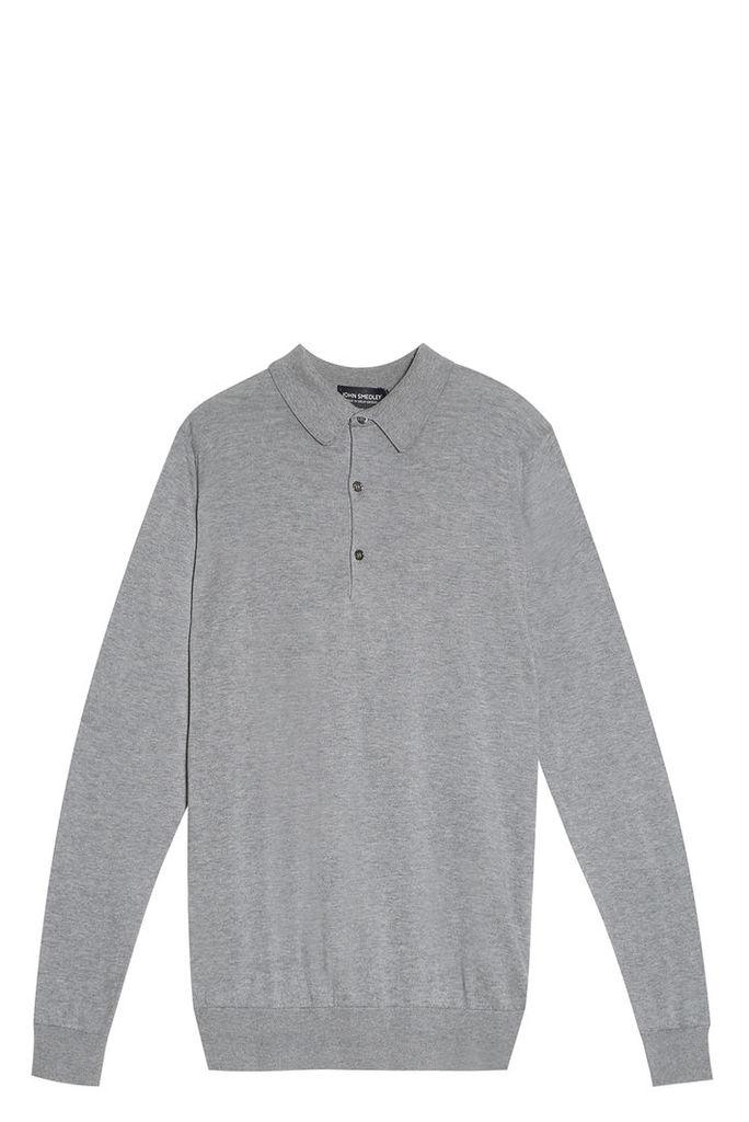 John Smedley Men`s Bradwell Polo Shirt Boutique1