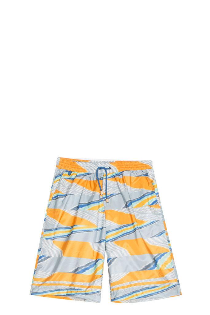 Missoni Men`s Long Printed Swim Short Boutique1