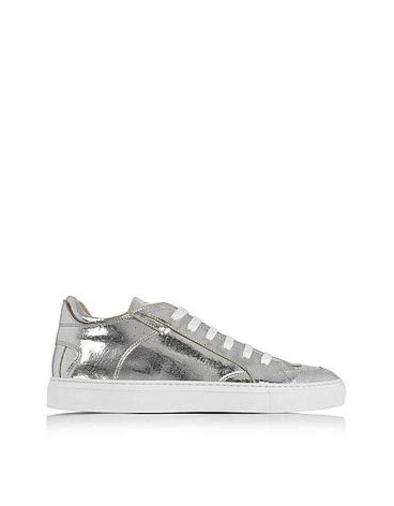 MM6 Maison Martin Margiela - Silver Low Top Sneaker
