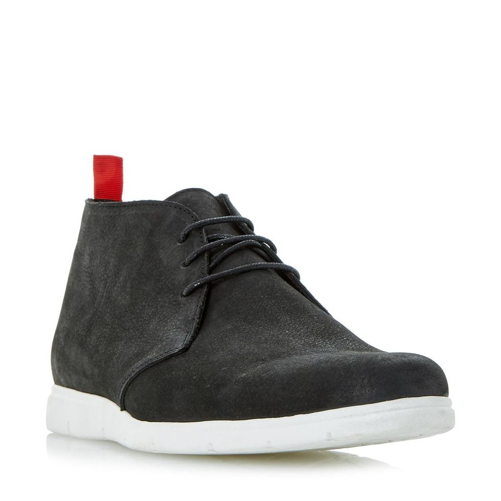 Carney White Wedge Sole Chukka Boot