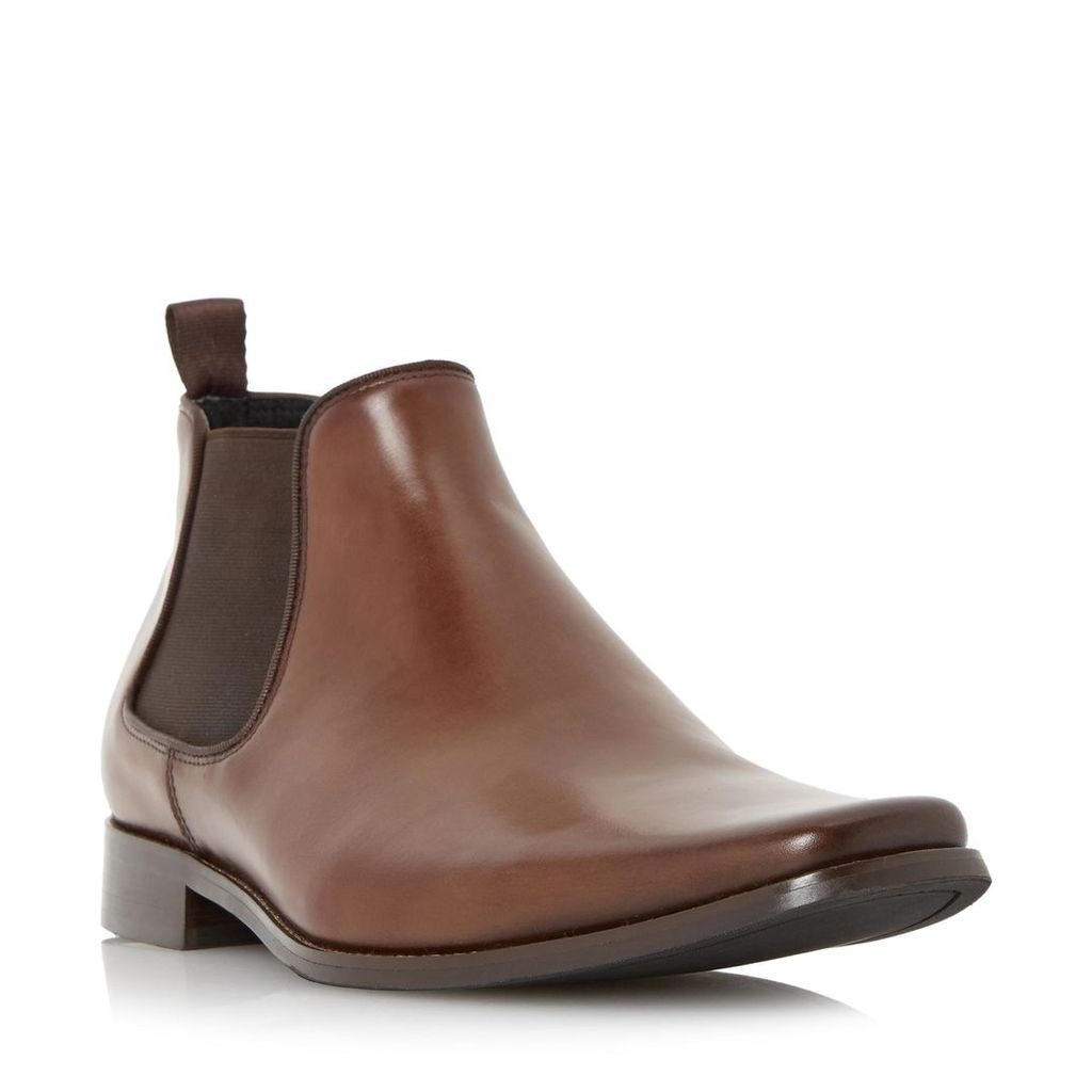 Arkwrights Square Toe Leather Chelsea Boot