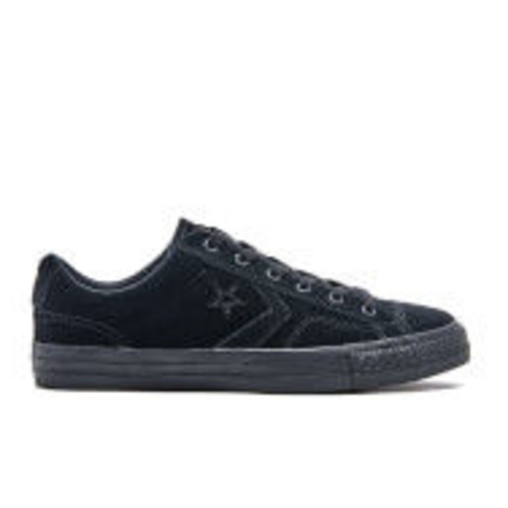 Converse Men's CONS Star Player Ox Trainers - Black - UK 7