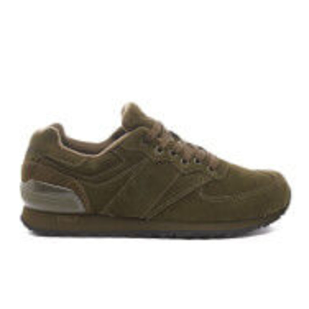 Polo Ralph Lauren Men's Slaton Pony Runner Trainers - Deep Olive - UK 10