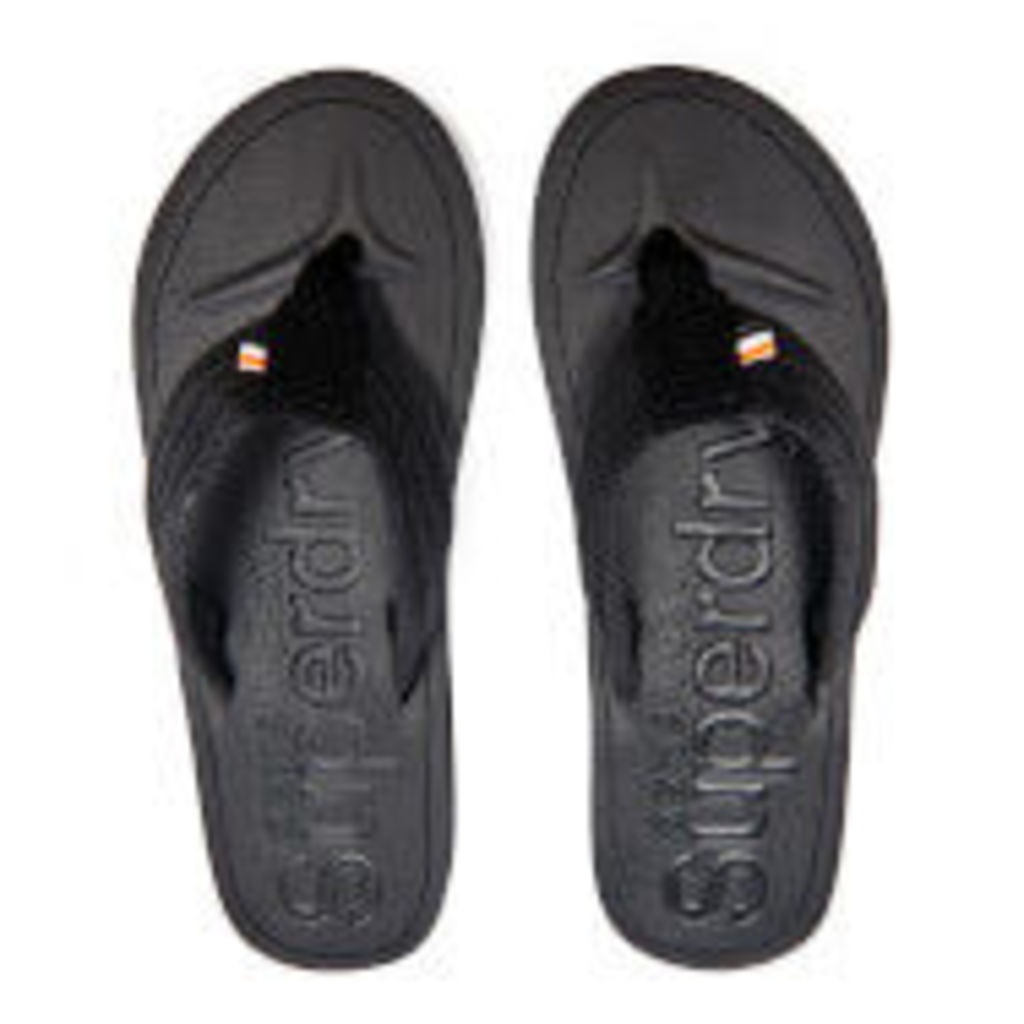 Superdry Men's Cove Toe Post Sandals - Black - S/UK 6-7