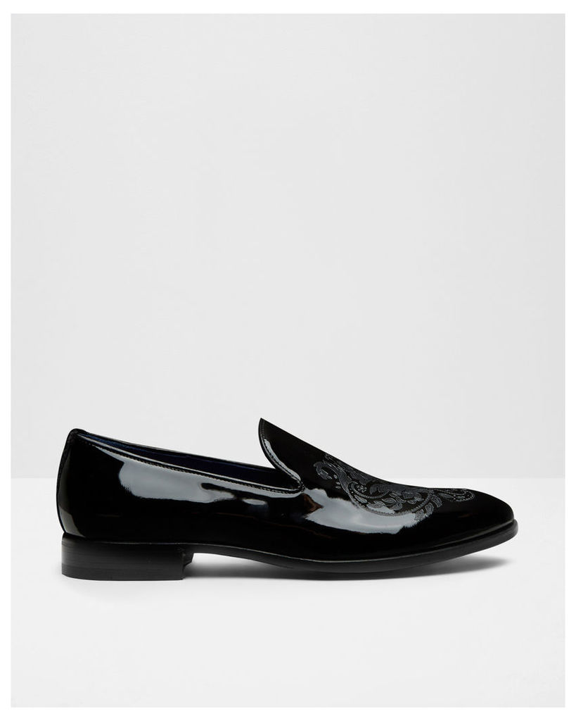 Ted Baker Patent leather loafers Black