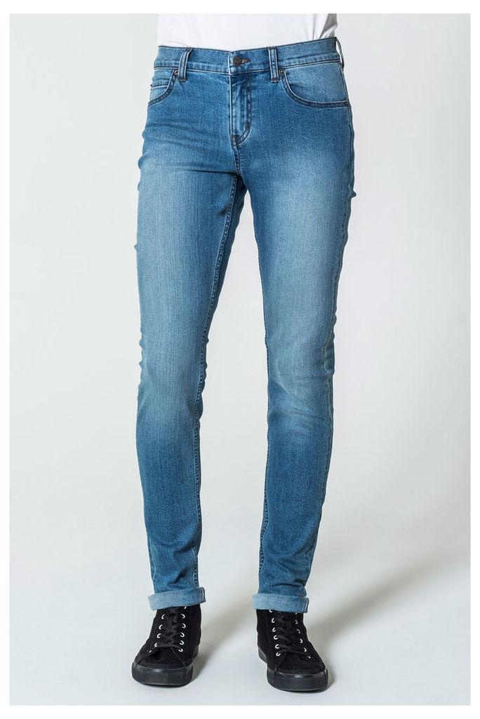Dropped Blue Wave Jeans