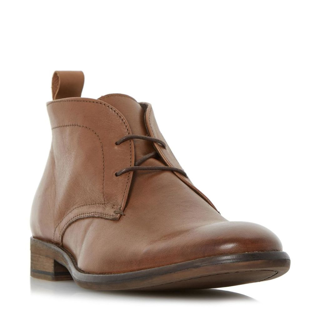 Chief Leather Lace Up Boot