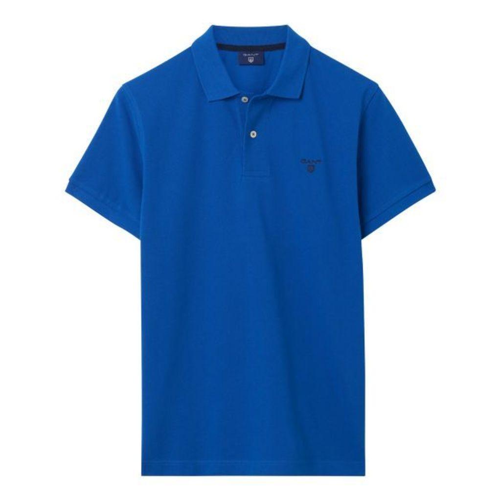 Summer Polo Shirt - Nautical Blue