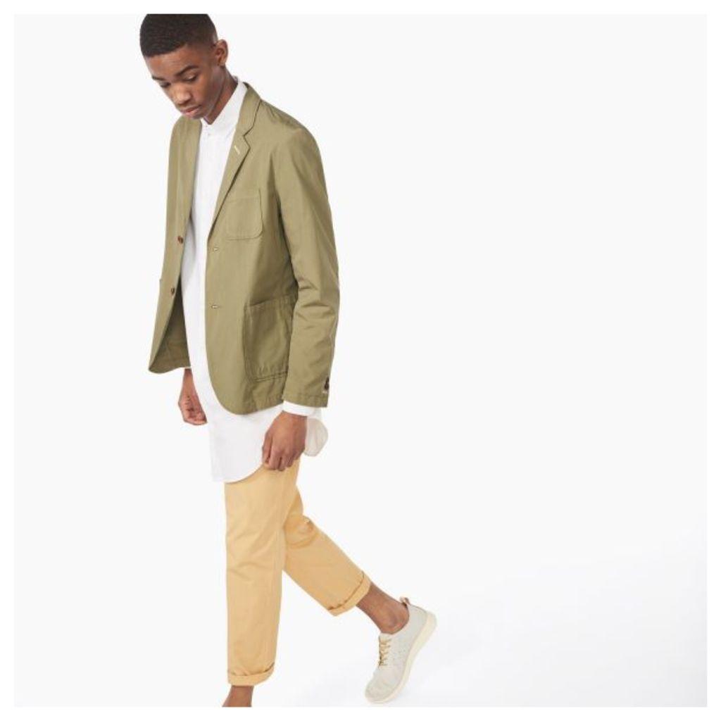 Cotton Blazer - Highland Green