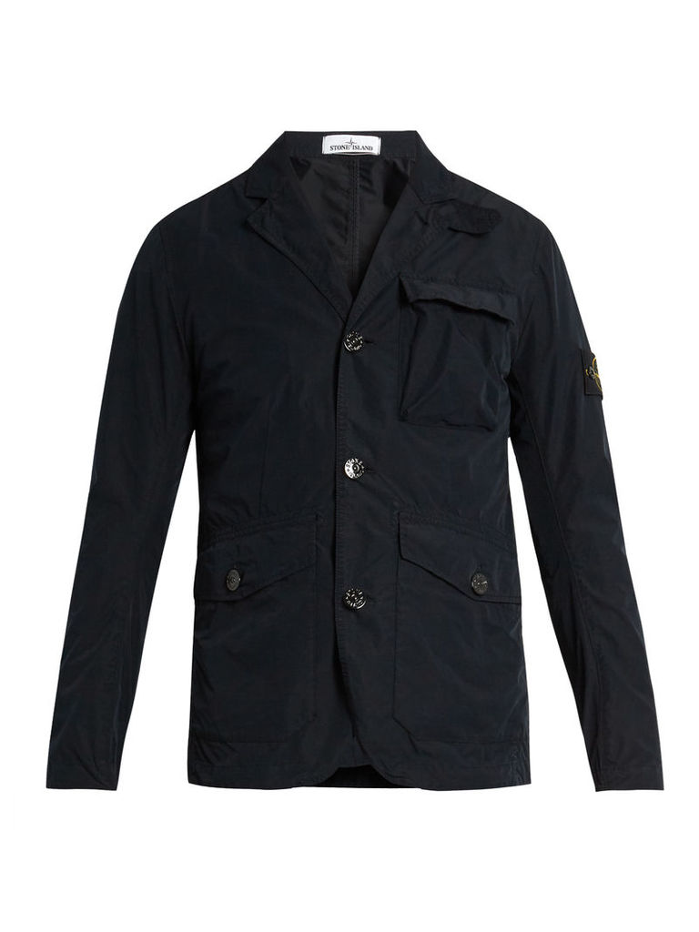 David Tela lightweight technical blazer