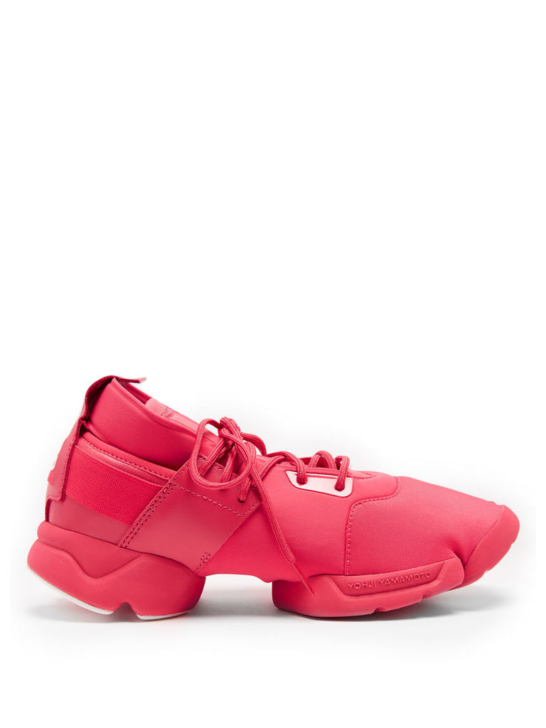 Kydo low-top neoprene trainers