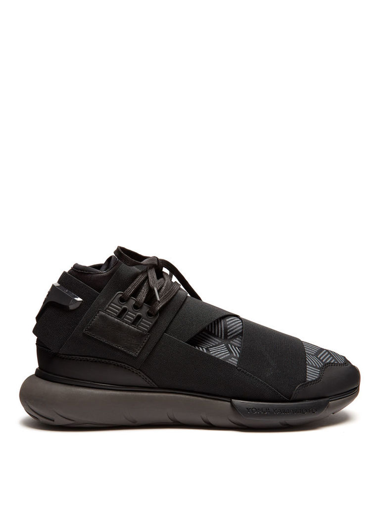 Qasa High mid-top trainers