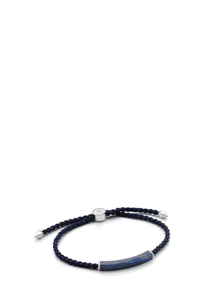 Monica Vinader Men`s Dumortierite Linear Friendship Bracelet Boutique1