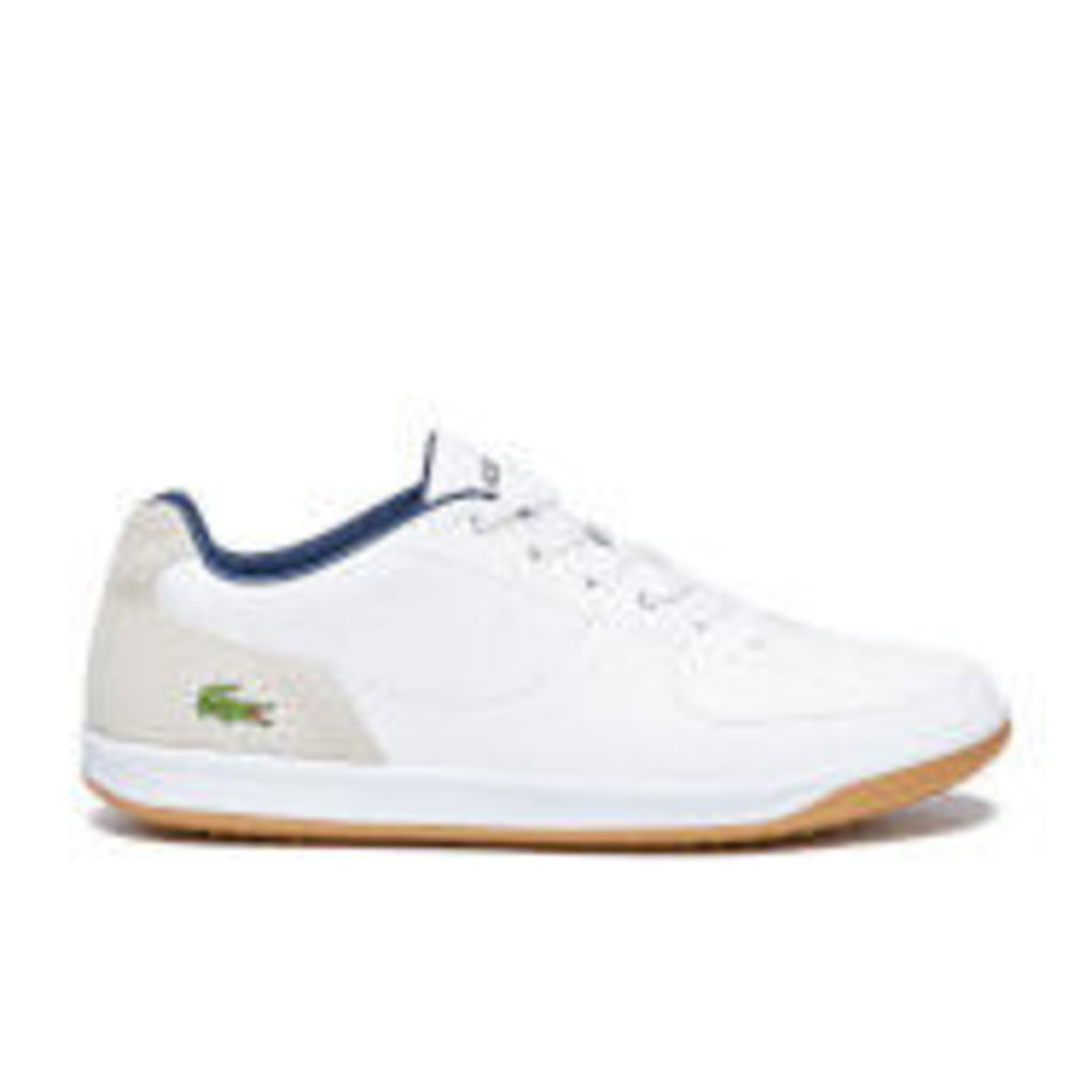 Lacoste Men's LS.12-Minimal Ripple 316 1 Low Profile Trainers - White - UK 10
