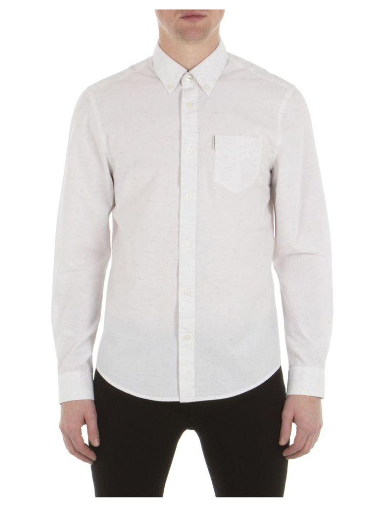 Long Sleeve Heavy Nep Shirt XXS A47 Bright White