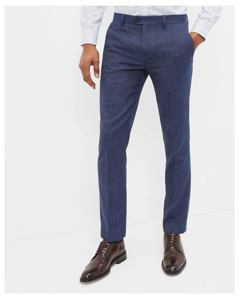 Ted Baker Modern fit trousers Bright Blue