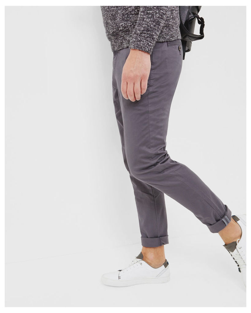 Ted Baker Tapered fit chinos Grey