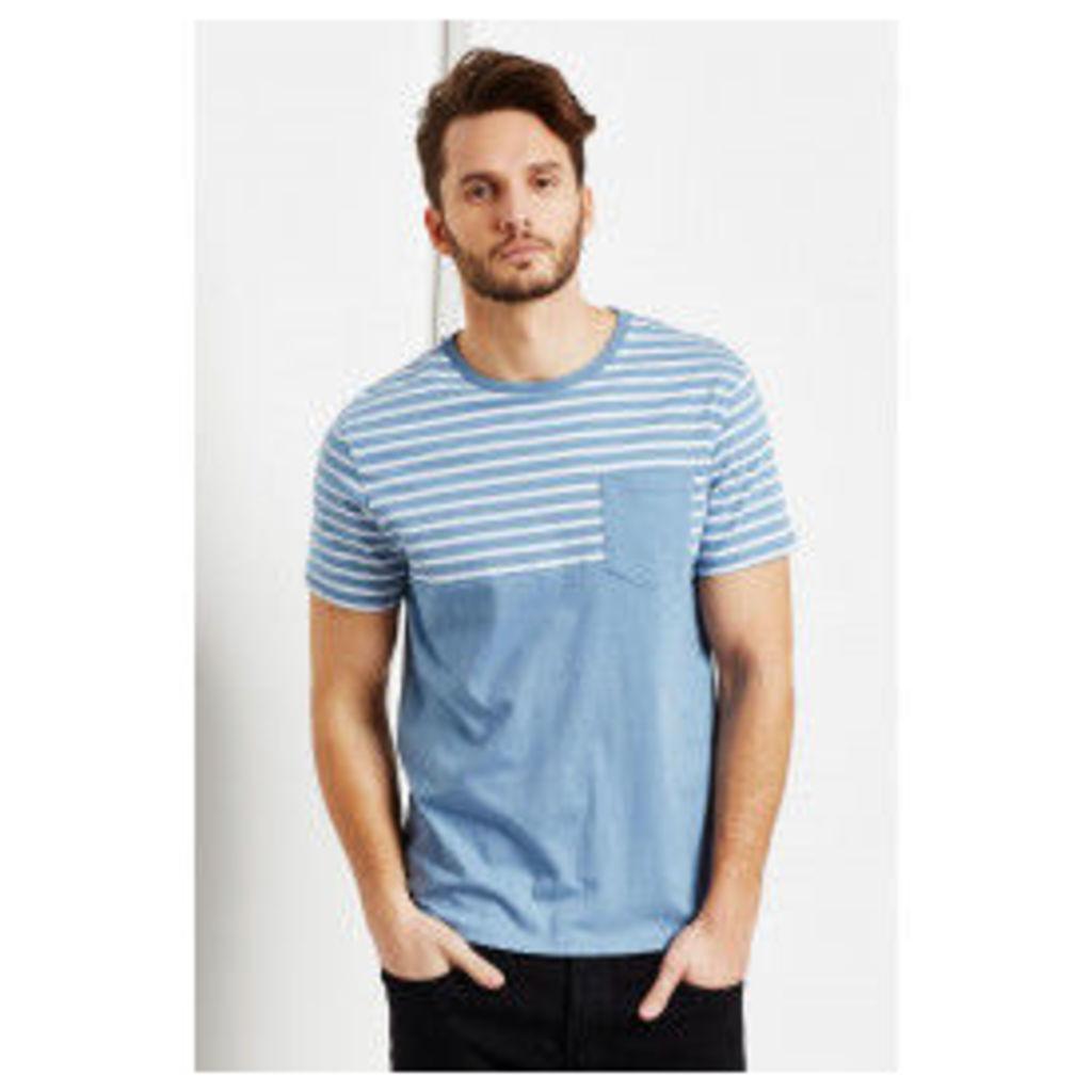 Threadbare Kingston Stripe Pocket T Shirt