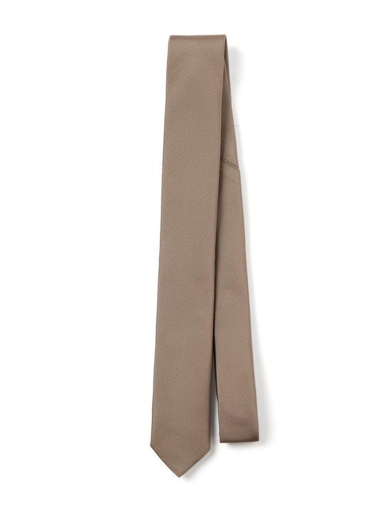 Silk Tie in Clay