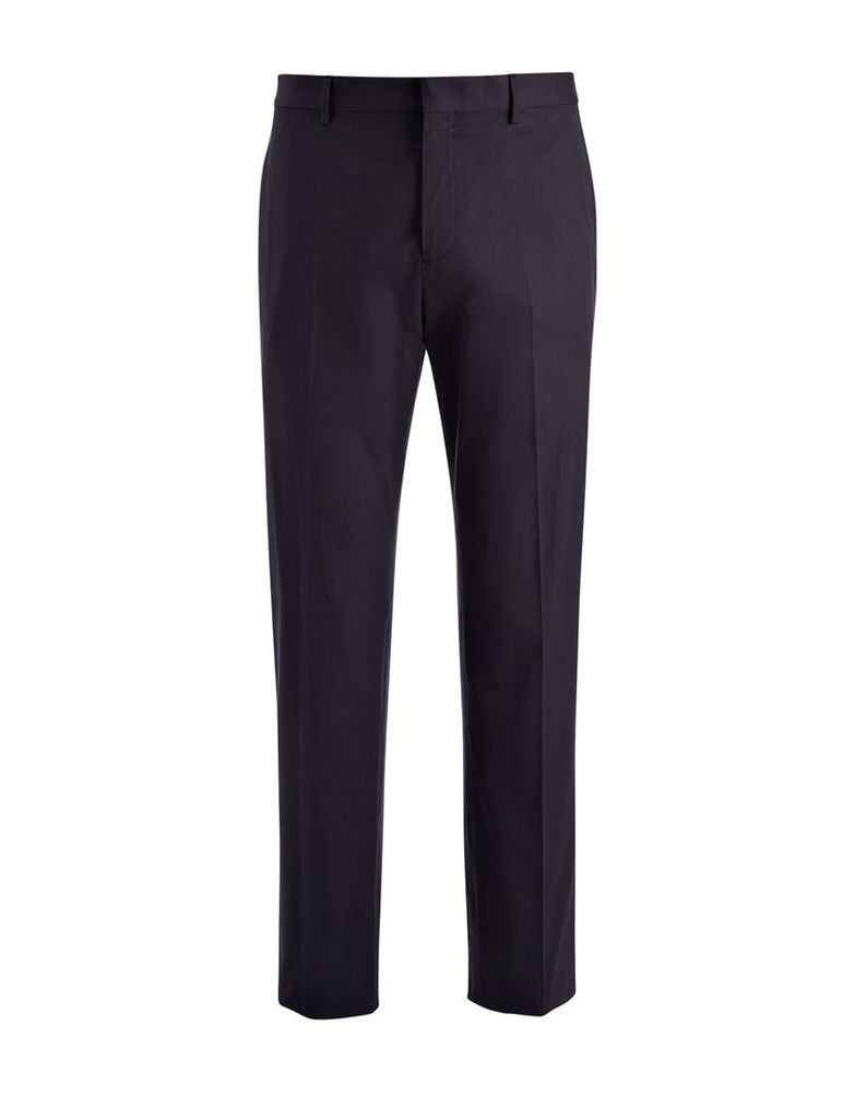 Techno Wool Stretch Clive Trouser in Navy