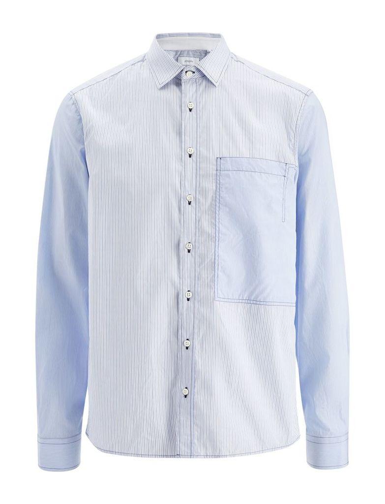Workwear Stripes Deal Shirt in Blue