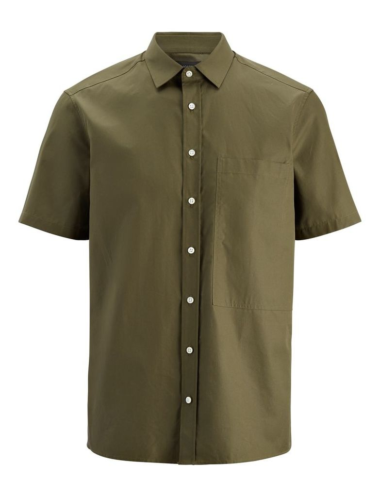 Poplin Deal Shirts in Khaki