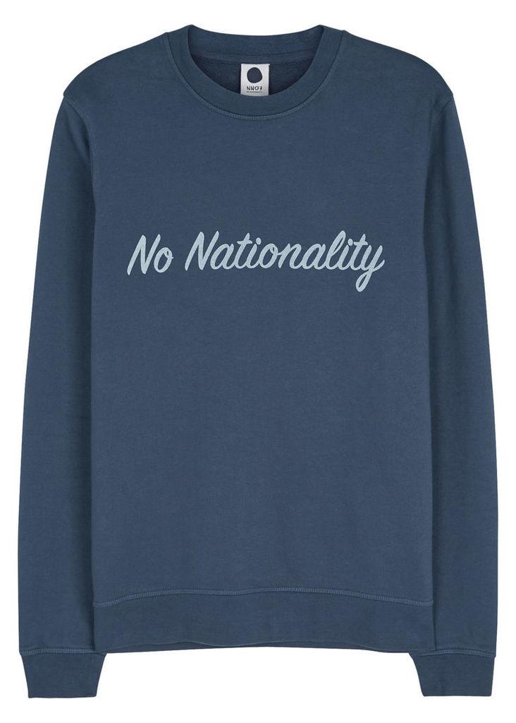 Base logo-print cotton sweatshirt