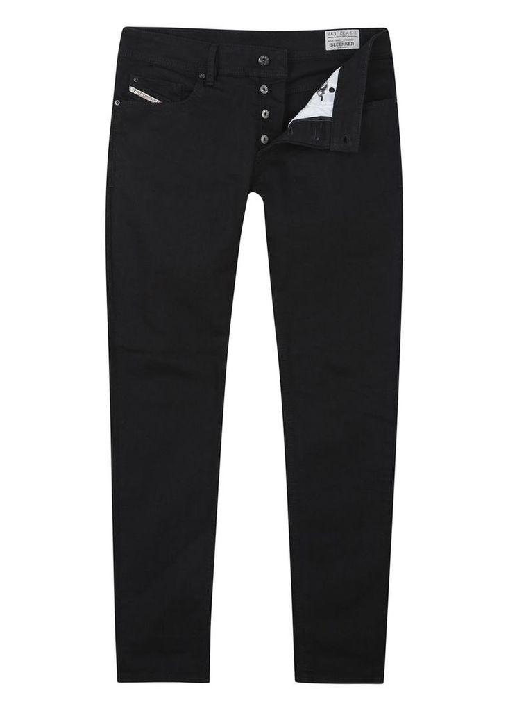 Sleenker 0886Z black skinny jeans