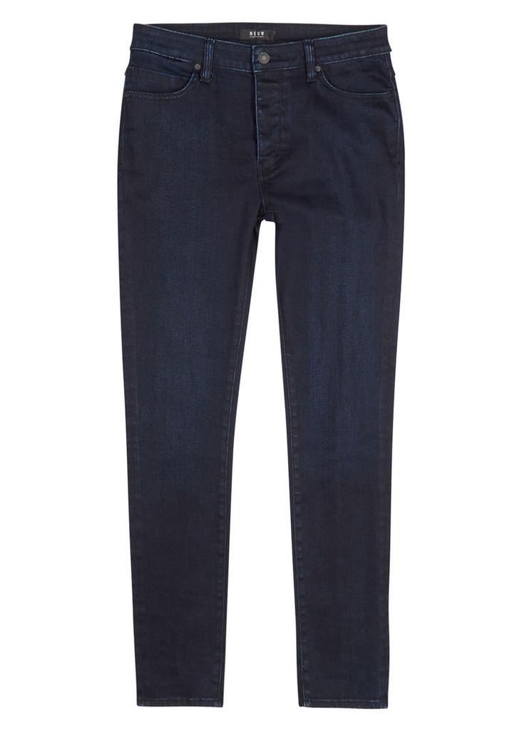 Hell dark blue skinny jeans