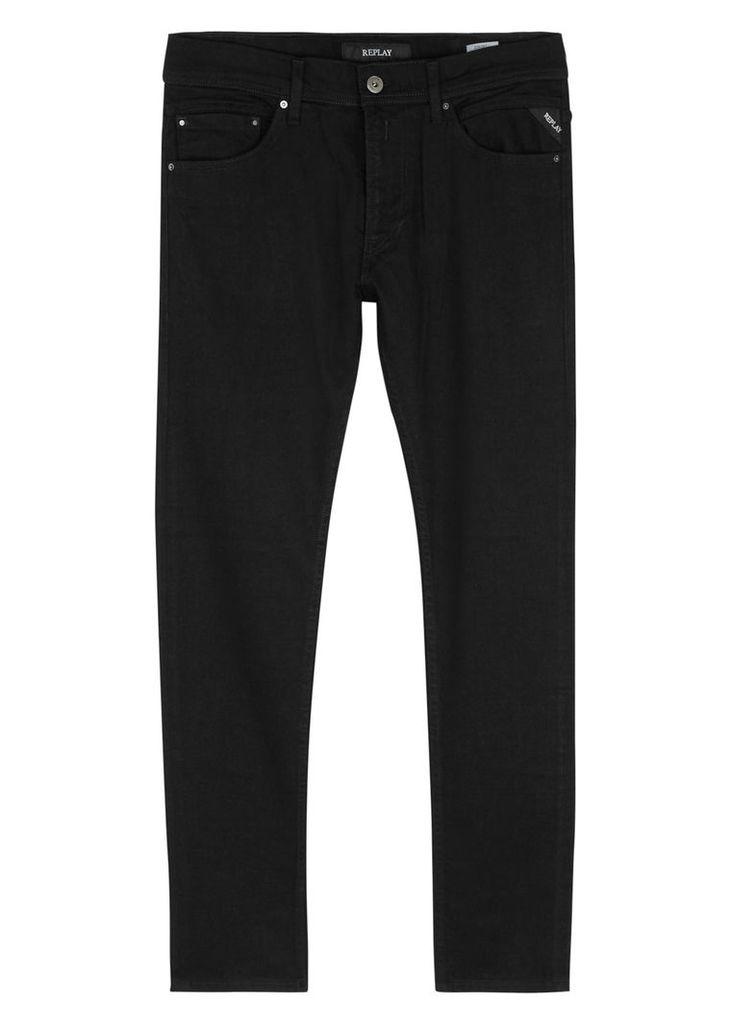 Jondrill black skinny jeans