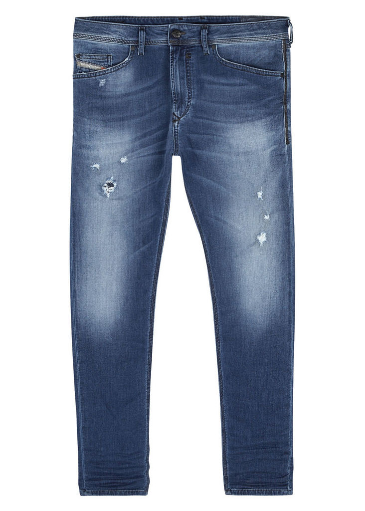 Spender 0678M blue skinny Jogg jeans