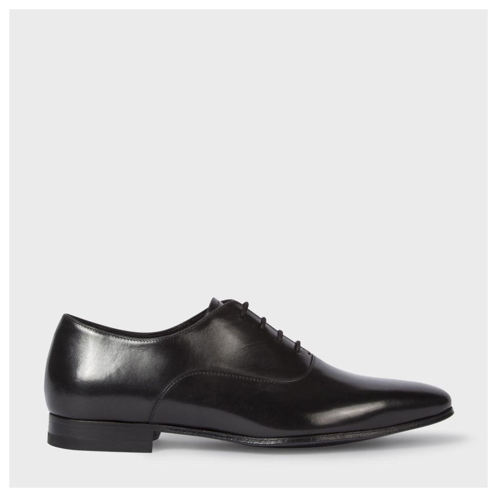 Men's Black Leather 'Fleming' Oxford Shoes
