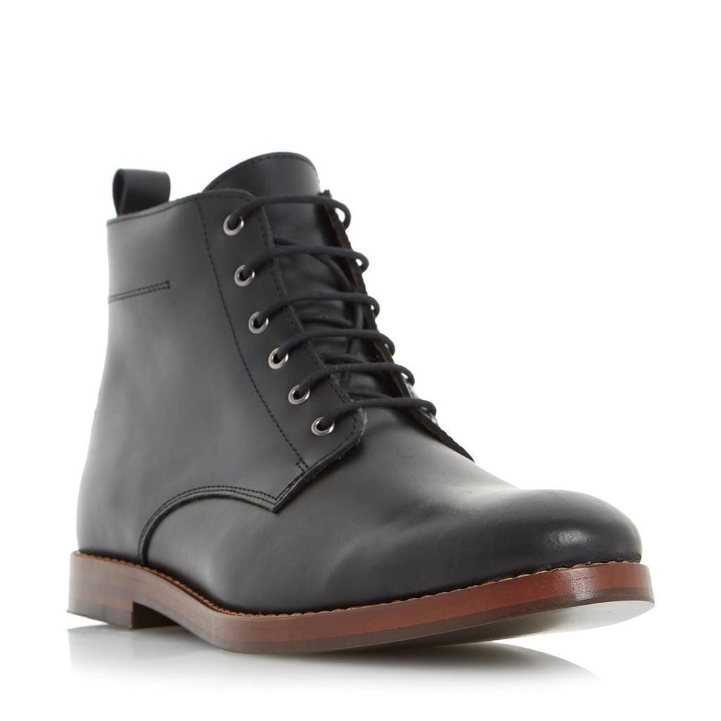 Cambell Leather Lace Up Boot