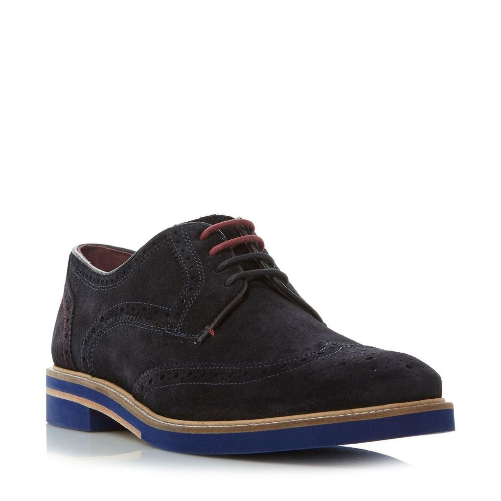 Ted Baker Archerr 2 contrast sole brogue, Blue