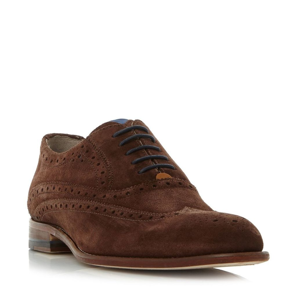 Oliver Sweeney Fellbeck wingtip classic brogue shoes, Brown