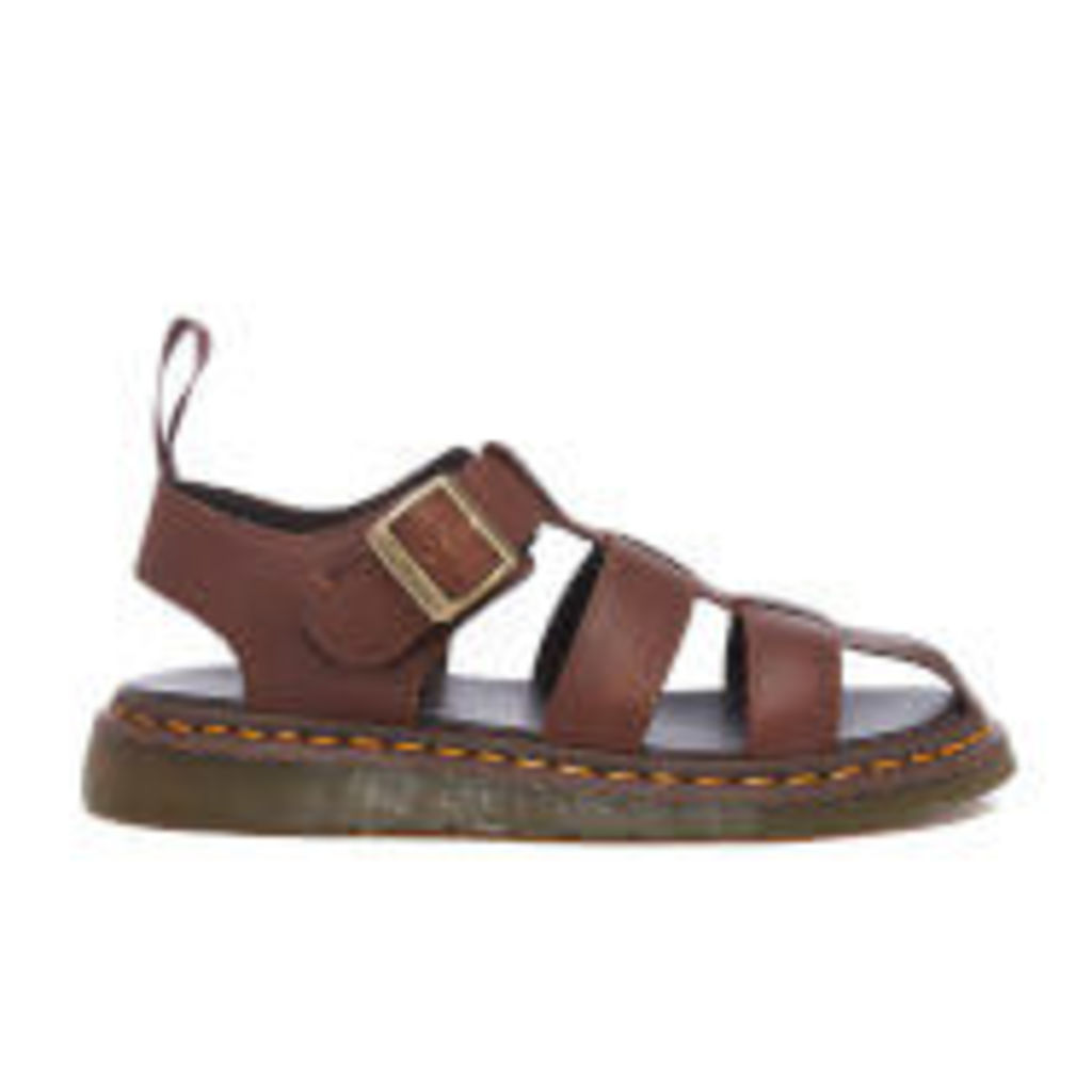 Dr. Martens Men's Fusion Galia Fisherman Sandals - Tan Carpathian - UK 8
