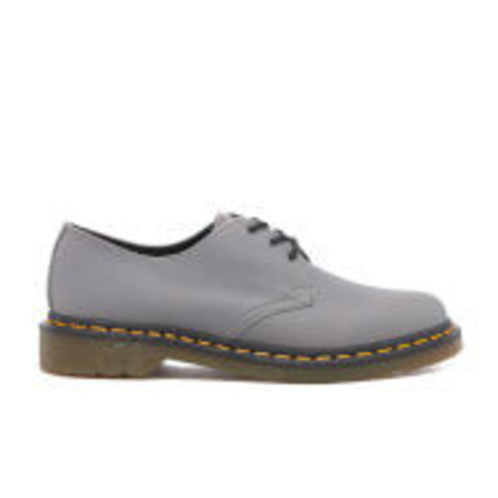 Dr. Martens Men's 1461 3-Eye Derby Shoes - Titanium Carpathian - UK 10