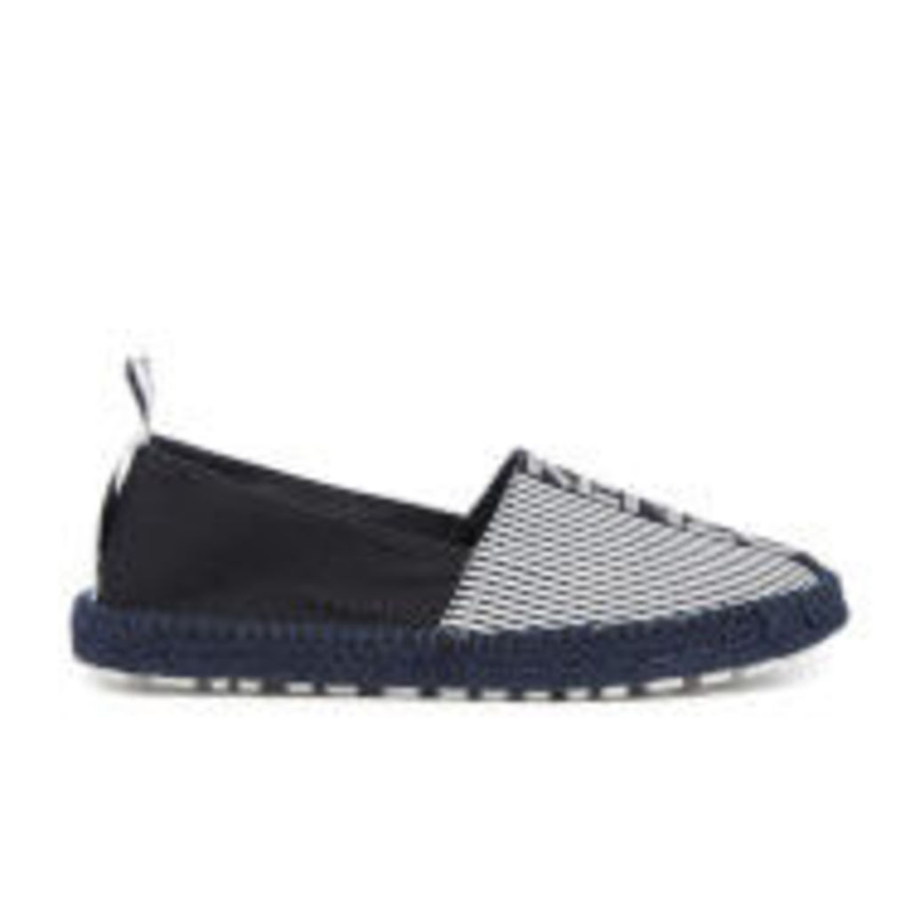 KENZO Men's Stanley Kenzo Stripes Canvas Espadrilles - Black - EU 43/UK 9.5