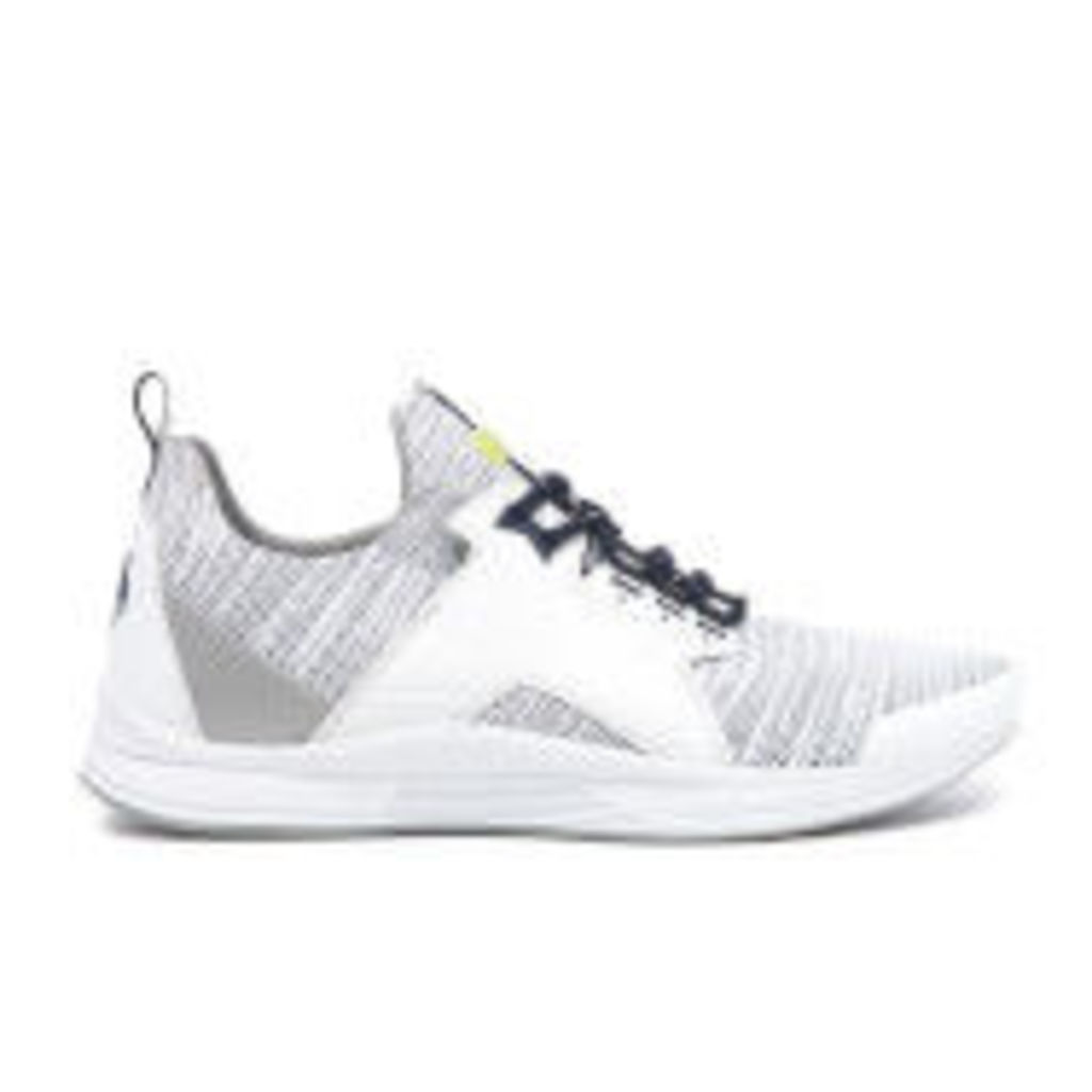 KENZO Men's Ozzy Gummy Mesh Running Trainers - White - EU 44/UK 10