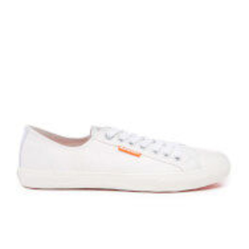 Superdry Men's Low Pro Sleek Sneaker Trainers - White - UK 10