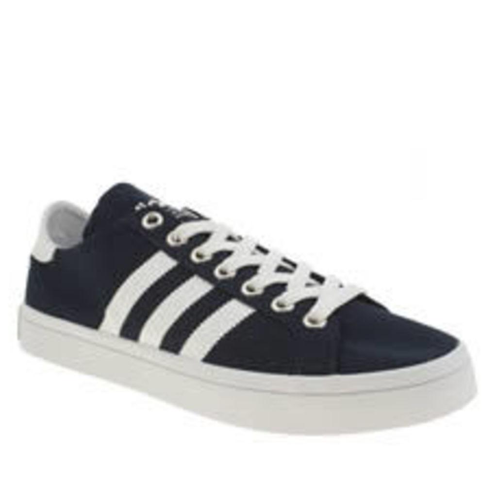 Adidas Navy & White Court Vantage Trainers