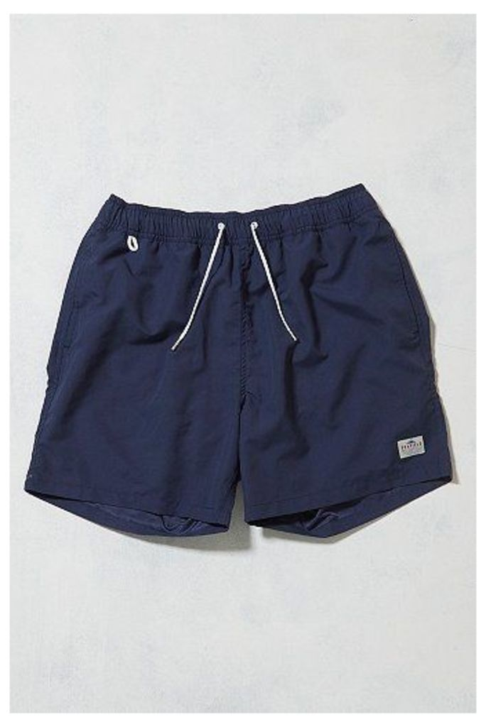 Penfield Seal Blueprint Swim Shorts, Navy