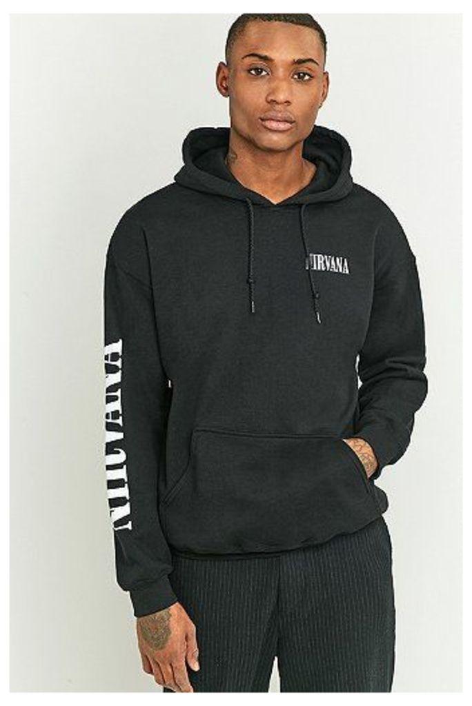 Nirvana Black Hoodie, Black