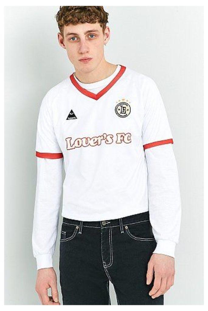 Lover's FC White Football Top, White