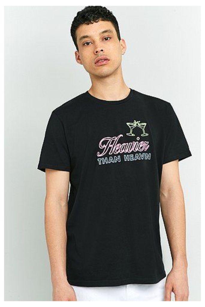 Edwin Heavier Than Heaven Black T-shirt, Black